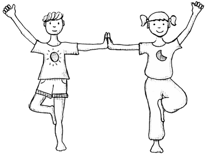 Cours de yoga pour les enfants